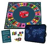 Alleswisser Quiz Brettspiel für Kinder u. Erwachsene ab 7 Jahre   Familienspiel für 2 - 4 Personen mit App Unterstützung   lustiges Party Spiel   Gesellschaftsspiel   Unterhaltungsspiel   Gemeinschaftsspiel