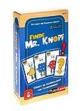 Play Land Finde Mr. Knopf Reaktionsspiel - Lustiges Gesellschaftsspiel & Brettspiel für Kinder & Erwachsene - Gemeinschaftsspiel für 2 bis 10 Personen - Witziger Spaß mit 3 Schwierigkeitsstufen