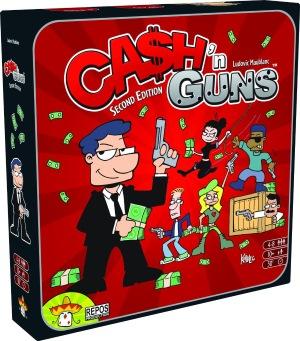 Cash N Guns Konflikt-Brettspiel