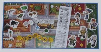 Cluedo Junior - Spielmaterial